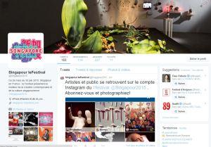 Twitter Singapour en France
